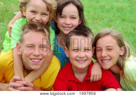 Happy Children Portrait