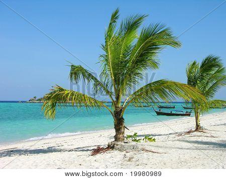 Tropical beach, Lipe Island, Thailand