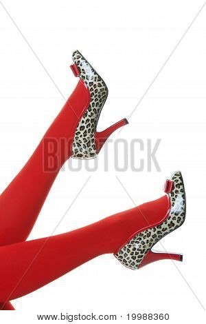 Rockabilly-Füße