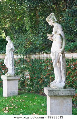 Sculpture In The Park Bagatelle In The Bois De Boulogne. Paris
