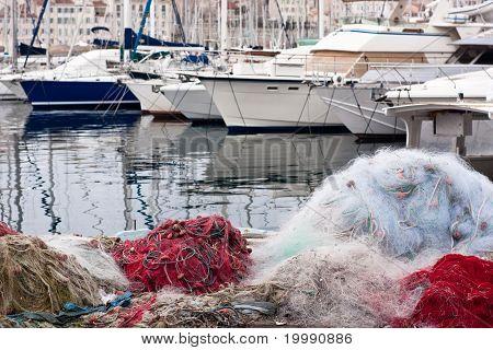 Vieux Port Of Marseilles
