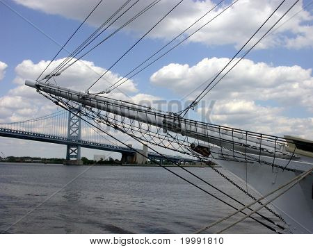 Bridge Through a Mast