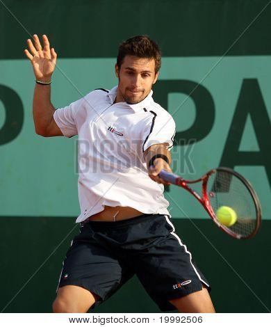 Daniel Munoz De La Nava (esp) At Roland Garros 2011
