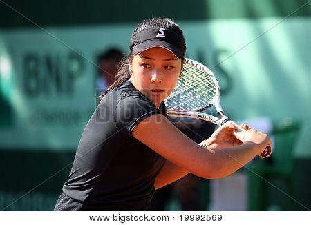Zarina Diyas (kaz) At Roland Garros 2011
