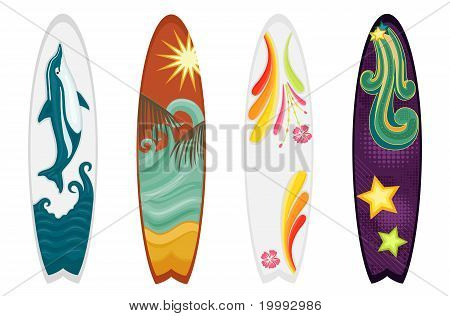 Surfboards Set Of Four