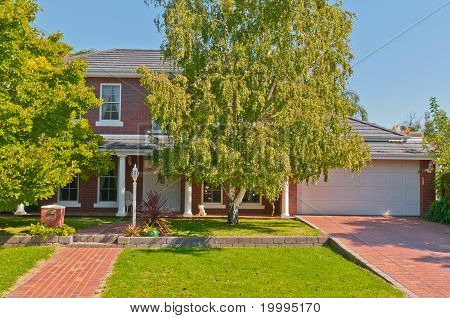 Two-storied Suburban Home