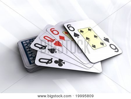 Poker Cards - Full House