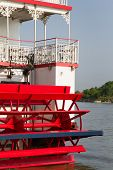 River Steamboat Paddle Wheeler
