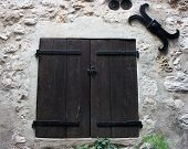 Medieval Window Shutters poster