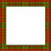 Christmas Plaid Frame