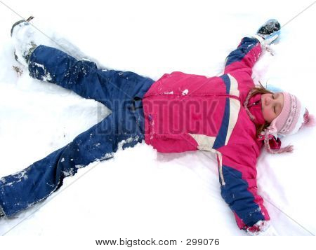 Winter Snow Angel