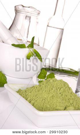 Young barley powder