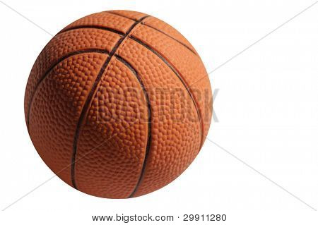 isolated basket ball