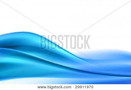 blue waves illustration no: 8