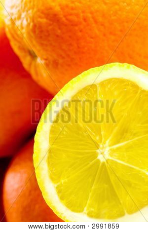 Lemon And Orange