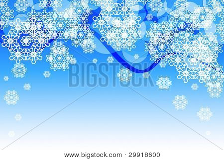 christmas and winter theme background