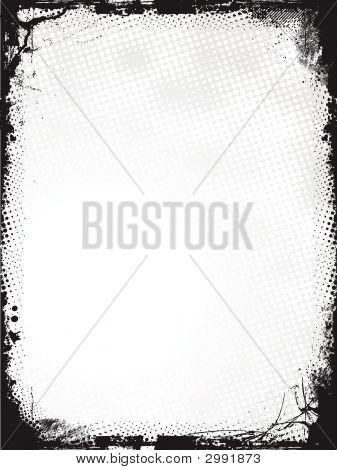 Grunge Border - Vector