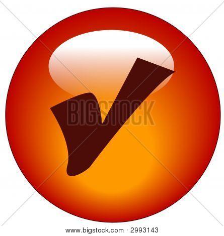 Button Check Mark