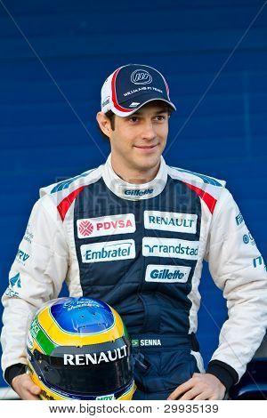 Team Willias F1, Bruno Senna 2012