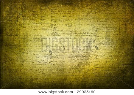 Grunge Abstract ancient Background With Handwrite Text