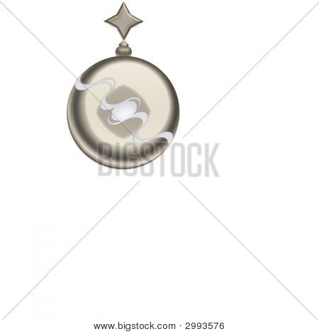 Steel Ball Christmas Ornament