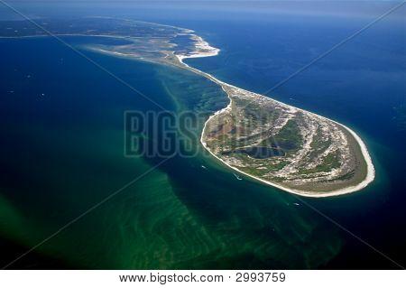 Monomoy Island, Cape Cod Aerial