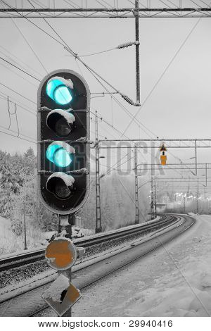 Railway Light Signal