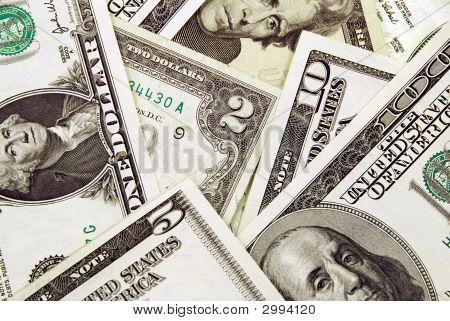 Montón de dólares