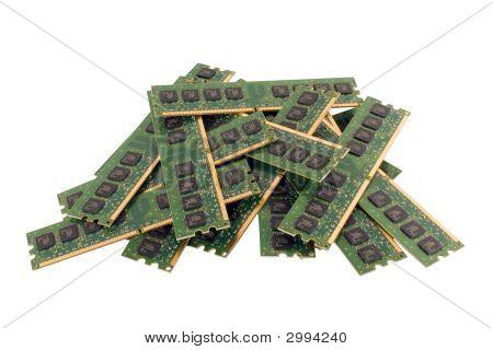 Heap Of Memory Modules