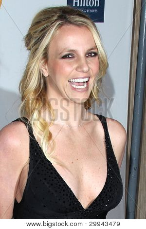 LOS ANGELES - FEB 11:  Britney Spears arrives at the Pre-Grammy Party hosted by Clive Davis at the Beverly Hilton Hotel on February 11, 2012 in Beverly Hills, CA