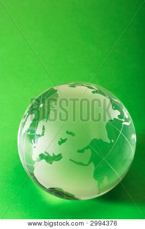 Globe On Green