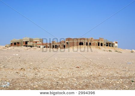 Uncompleted Resort Building