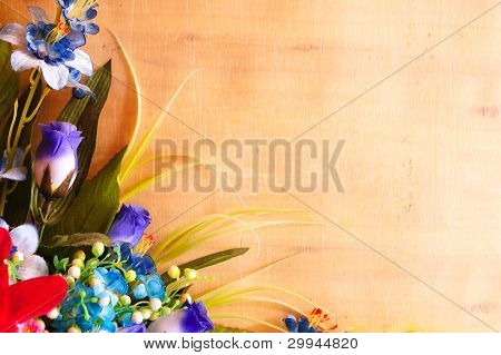 various flower design