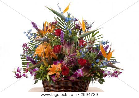 Exotic Flowers Arrangment