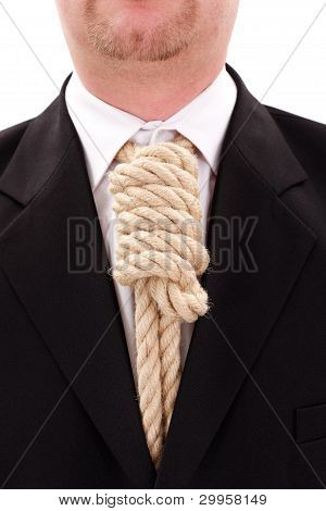 Gallows Rope Necktie