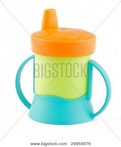 Multi Colored Baby Bottle