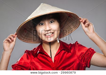 A Happy Asian Girl
