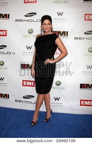 LOS ANGELES, CA - FEB 13: Hillary Scott at the EMI GRAMMY After-Party at Milk Studios on February 13, 2011 in Los Angeles, California
