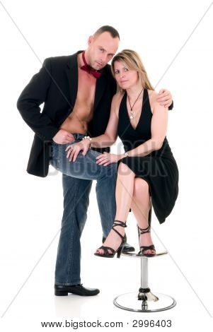 Male Gigolo And Woman Admirer