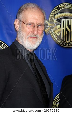 LOS ANGELES - FEB 12:  James Cromwell at the Press Area of the 2012 American Society of Cinematographers Awards at the Grand Ballroom, Hollywood & Highland on February 12, 2012 in Los Angeles, CA