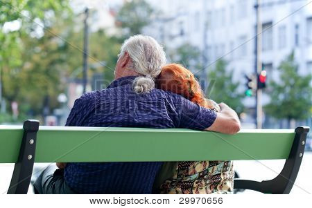 Senior Couple Relaxing