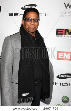 LOS ANGELES, CA - FEB 13: Herbie Hancock at the EMI GRAMMY After-Party at Milk Studios on February 13, 2011 in Los Angeles, California