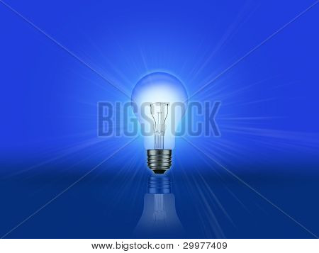 Light Bulb Gradient