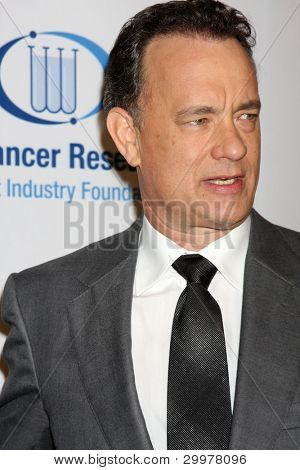 "LOS ANGELES, CA - JAN 27: Tom Hanks at the ""An Unforgettable Evening"" benefiting EIF's Women's Cancer Research Fund on January 27, 2010 in Los Angeles, California"