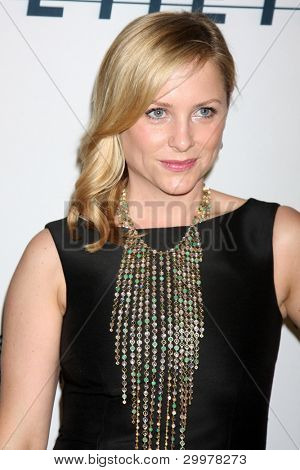 LOS ANGELES, CA - JAN 27: Jessica Capshaw at the