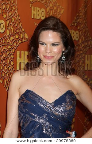 LOS ANGELES, CA - JAN 17: Mariana Klaveno at the 67th Annual Golden Globe Awards HBO After Party at The Beverly Hilton Hotel on January 17, 2010 in Los Angeles, California