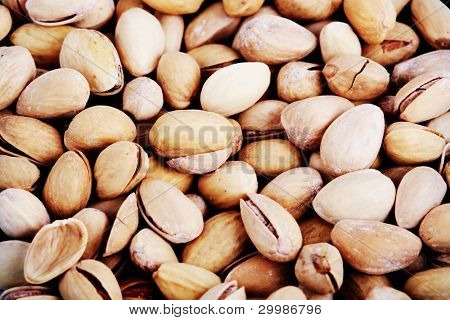 Pistachio background