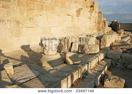 Ruins In Kourion