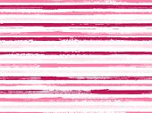Stripes Geometric Textile Seamless Vector Pattern. Ink Paint Lines Textured Background. Geometric Ca poster