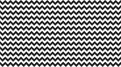 Serrated Striped Black White Color For Background, Art Line Shape Zig Zag Black Color, Wallpaper Str poster